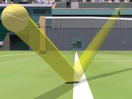 ojo de halcón tenis
